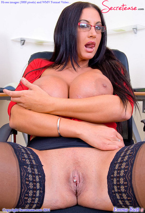 Big Boobed office beauty in exclusive st - XXX Dessert - Picture 8