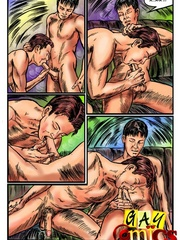 Adult cartoons and gay sex in these hot scenes. Tags: - Picture 7