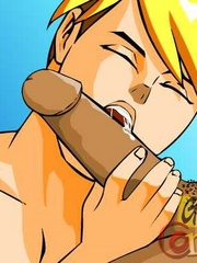 Hot free sexy gay cartoons at the gym. Tags: cartoon - Picture 9
