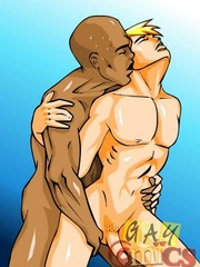 Hot free sexy gay cartoons at the gym. Tags: cartoon - Picture 12