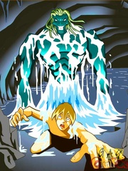 Hot fee fuck with the water monster. Tags: cartoon - Picture 6