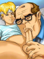 Excellent gay cartoon pics at the hospital. Tags: sex - Picture 8
