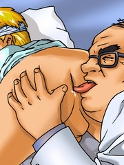 Excellent gay cartoon pics at the hospital. Tags: sex - Picture 10