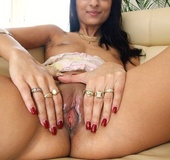 Sexy shaped indian babe slowly gattin naked and&hellip;