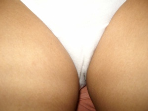 Xxx homemade pics of indian chick taking off her white panties and fingering her twat. - XXXonXXX - Pic 3