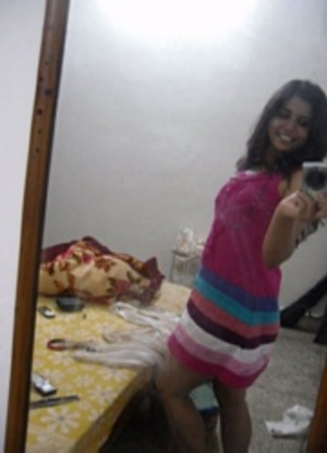 Horny indian hottie making selfshot xxx upskirt pics at home. - XXXonXXX - Pic 2