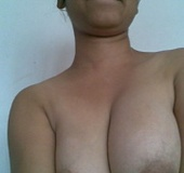 Amateur indian chick revealing her tits of white…