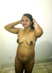 smily busty indian plumper