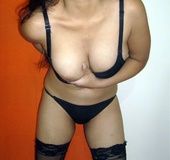 Sexy shaped indian stunner in sexy black lingerie&hellip;