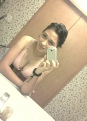 Smily indian stunner in sexy red dress seductively posing in the restroom. - XXXonXXX - Pic 10