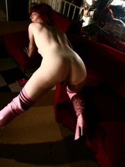 Naughty girl with horny pussy in her first amateur - XXXonXXX - Pic 6
