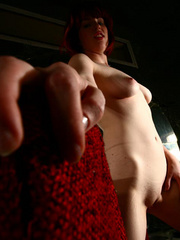 Naughty girl with horny pussy in her first amateur - XXXonXXX - Pic 7