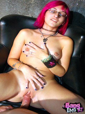 Naked emo slut with shaved pussy getting drilled hard. - XXXonXXX - Pic 16