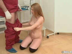 Sexy redhead college girl in kneesocks undressed - XXXonXXX - Pic 10