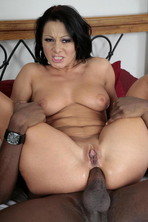 Interracial porn pics of busty wife gets - XXX Dessert - Picture 14