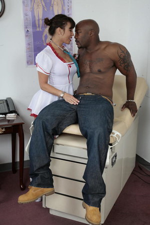 Shaved pussy asian milf nurse and her bl - XXX Dessert - Picture 1