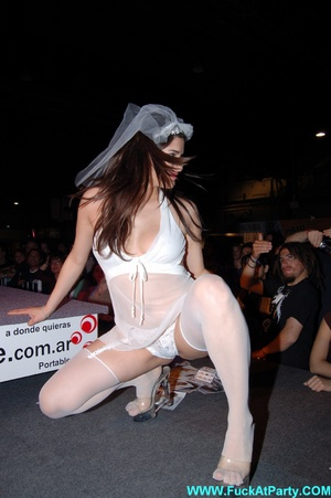 Perfect body party girls in sexy outfits performing sexy striptease and lap dance on the party. - XXXonXXX - Pic 5