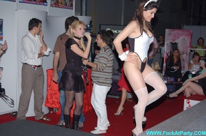 Perfect body party girls in sexy outfits performing sexy striptease and lap dance on the party. - XXXonXXX - Pic 10