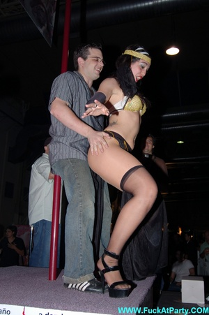 Perfect body party girls in sexy outfits performing sexy striptease and lap dance on the party. - XXXonXXX - Pic 14