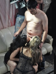 Reality orgy party pics of two nasty nymphs in - XXXonXXX - Pic 9