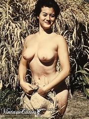 Vintage erotica shots of middle aged - XXX Dessert - Picture 1