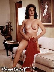 Vintage erotica shots of middle aged - XXX Dessert - Picture 8