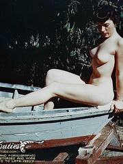 Vintage erotica shots of middle aged - XXX Dessert - Picture 10