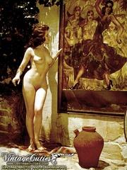 Vintage erotica shots of middle aged - XXX Dessert - Picture 12