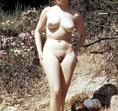 Chubby naked ladies with hairy pussies in vintage…