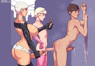 lustful ladyboys enjoying companies