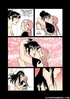 Pink haired cartoon beauty seducing her dark…