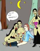 Xxx toon video of cum vampire chicks captured…