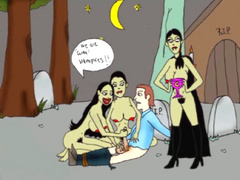 Xxx toon video of cum vampire chicks captured - Picture 1