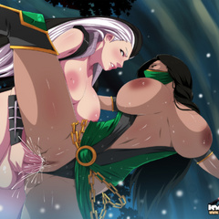 Sex starving anime shemales in sexy outfits sharing - Picture 3