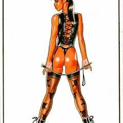 Cartoon xxx pics of nasty hotties in sexy lingerie - Picture 2