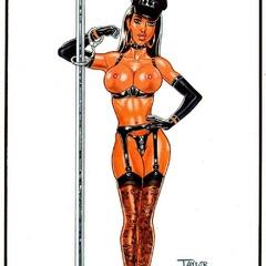Cartoon xxx pics of nasty hotties in sexy lingerie - Picture 3