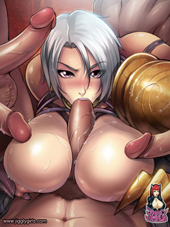 Cool hentai chicks giving head and titjobs - Picture 2