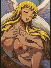 Perfect body  hentai angel girl willingly exposing - Picture 1