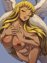 Perfect body  hentai angel girl willingly exposing - Picture 3