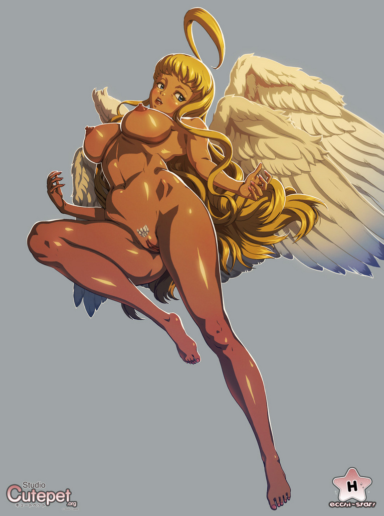Perfect body  hentai angel girl willingly exposing - Picture 4