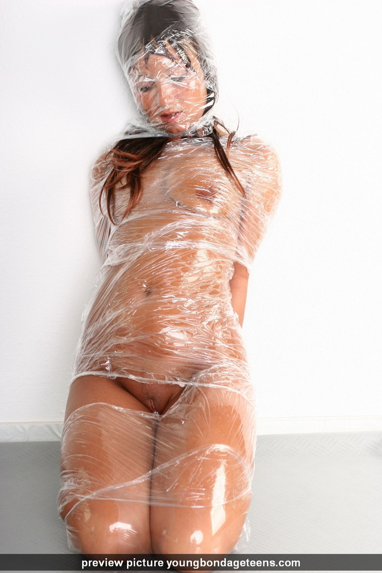 Awesome xxx bondage pics of lovely brunette - XXX Dessert - Picture 15