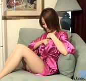 Hot alluring amateur getting interviewed on the…
