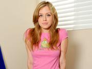 hot blonde teen gets