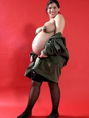 Pregancy porn soldier demolishing all the - XXX Dessert - Picture 7