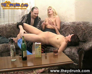 One lucky guy fucks two horny groggy milfs for his birthday - XXXonXXX - Pic 6