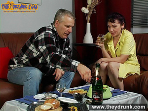 This aging guy knows what to do if he wants his cock sucked by his little wife - XXXonXXX - Pic 6