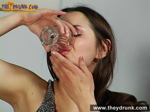 Daddy has a few drinks with his stepdaughter and they have oral sex - XXXonXXX - Pic 12