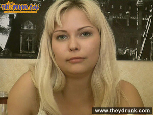 Tipsy smoking blondie in babydoll seducing her boy - XXXonXXX - Pic 7