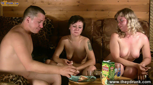 Guy and two girls threesome oral sex and fuck - XXXonXXX - Pic 10