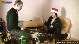 Christmas party ends in petting and cunnilingus - XXXonXXX - Pic 10